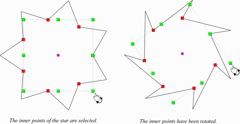 Transform Vector Points